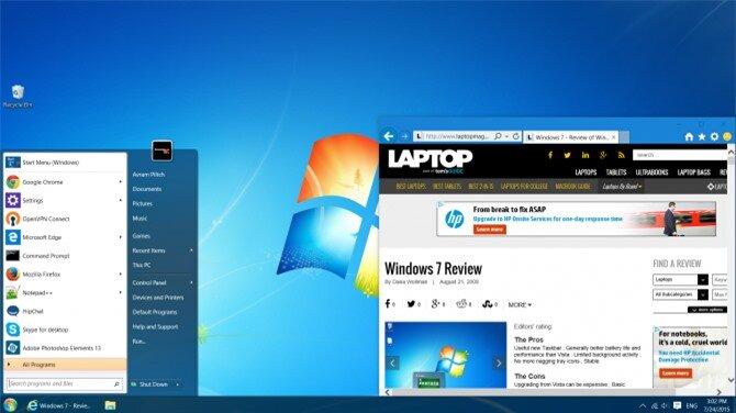Windows 10 like 7