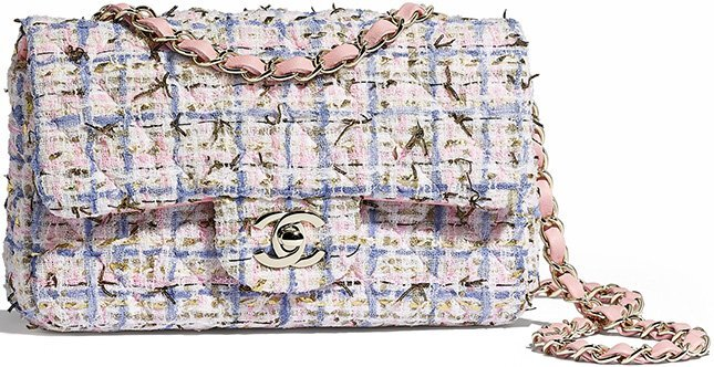 Chanel New Mini Tweed Classic Bag