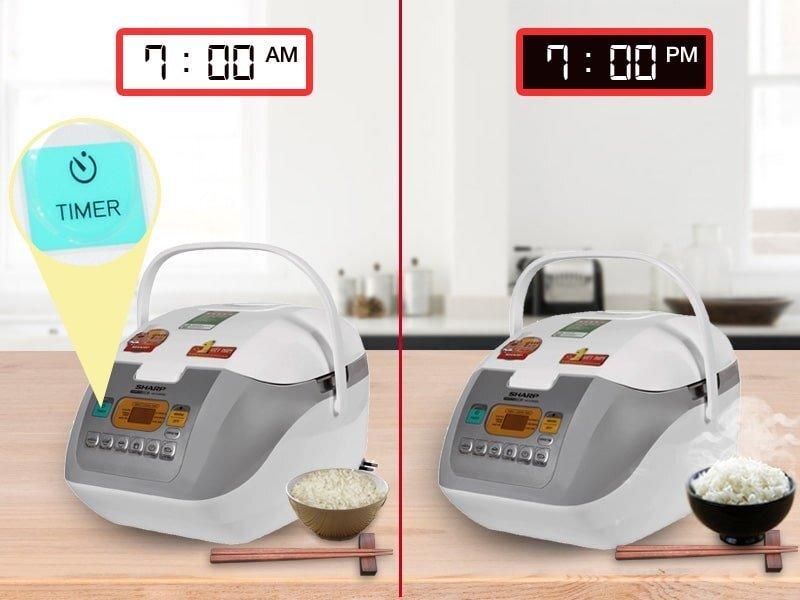 Chỉ nên hâm nóng cơm trong vòng 12 tiếng, quá thời gian này cơm sẽ không còn ngon và gây hại cho nồi