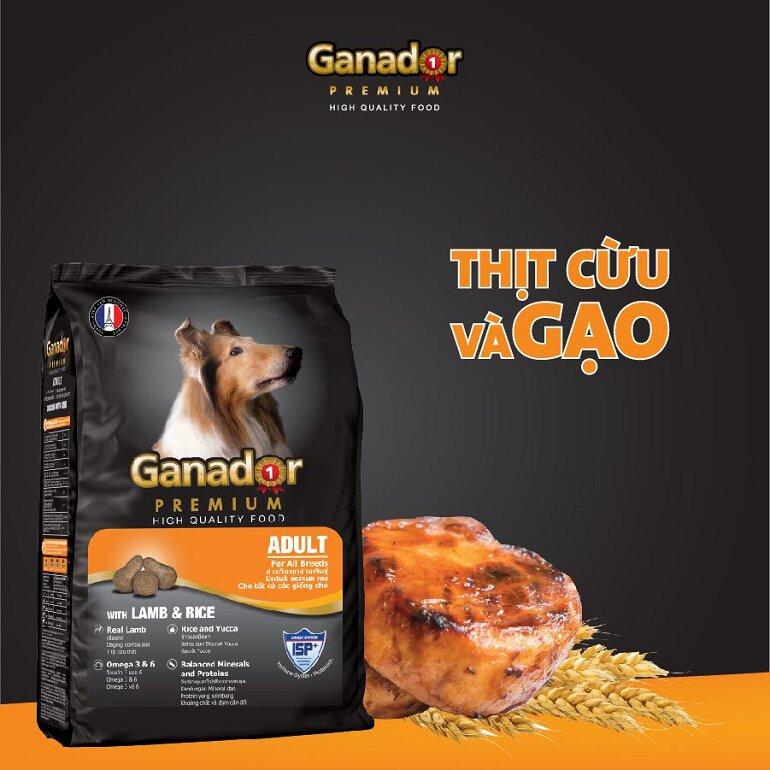 Thức ăn cho chó Ganador là thương hiệu có xuất xứ từ đất nước Pháp