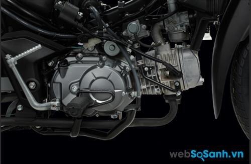 Đông cơ 109 cc trên Honda Wave RSX