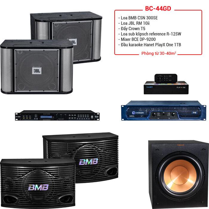 Dàn karaoke BC-44GD