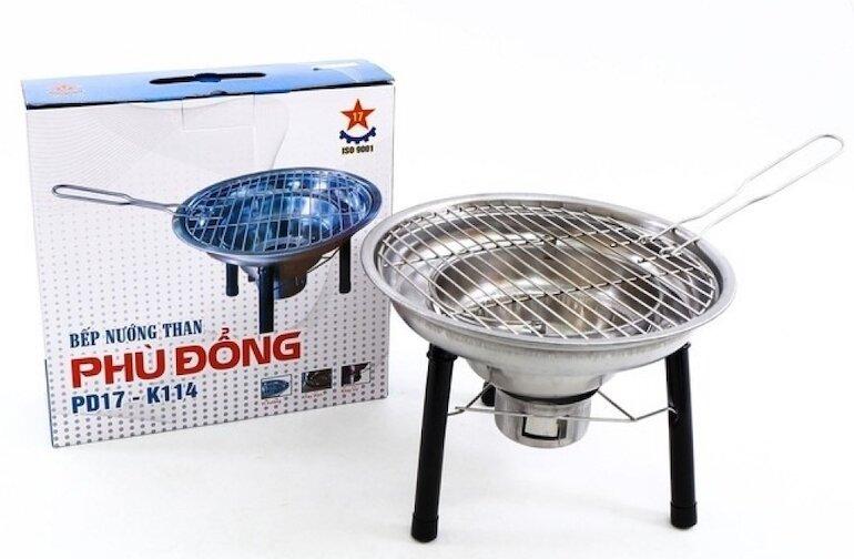 Bếp nướng than hoa không khói Phù Đổng PD17 – K114