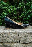 Giày Cao Gót Mũi Nhọn Đế Vuông - Đen cung cấp bởi Kims Shoes & Accessories