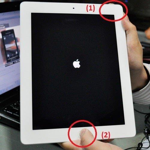 Hướng dẫn tắt nguồn iPad khi bị treo