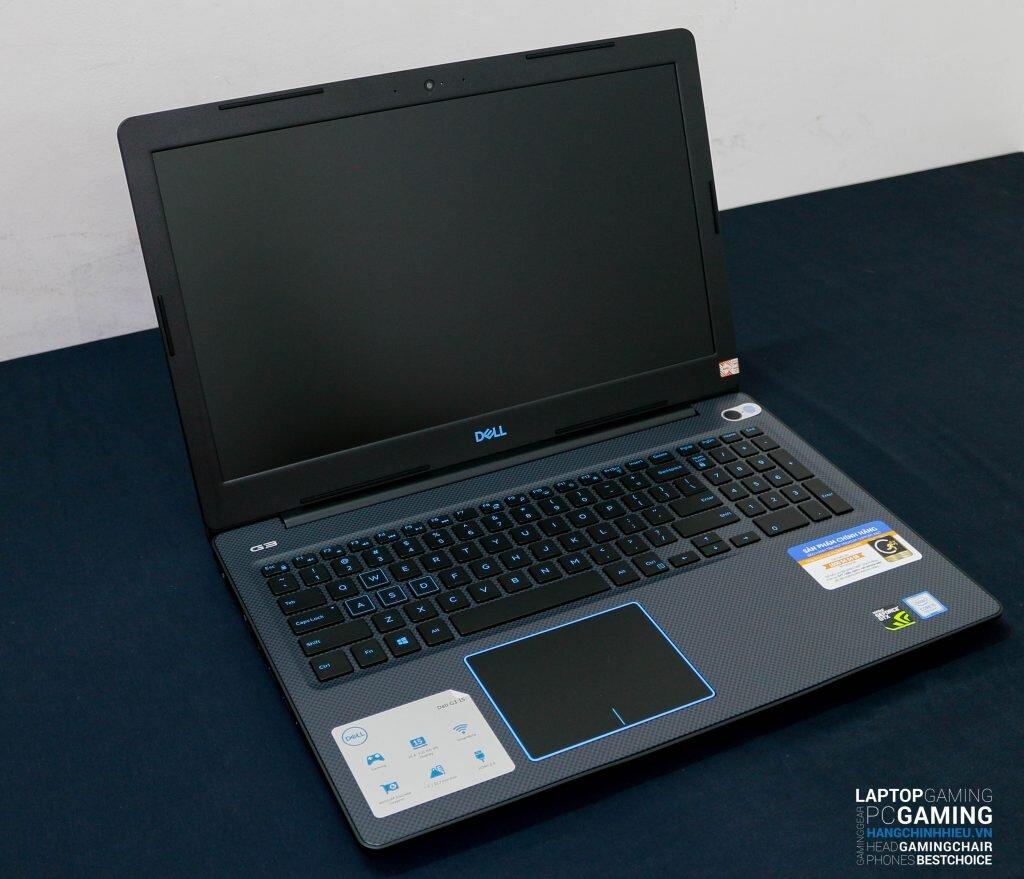 Dell G3 3579 được thiết kế đơn giản tương tự như những dòng laptop phổ thông của Dell