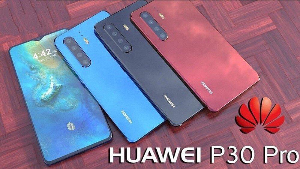 Màn hình hiển thị của Huawei P30 Pro