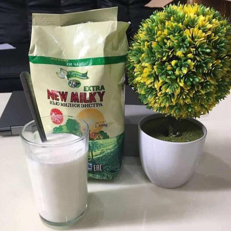 Sữa béo Nga New Milky có tác dụng tăng cân không ?