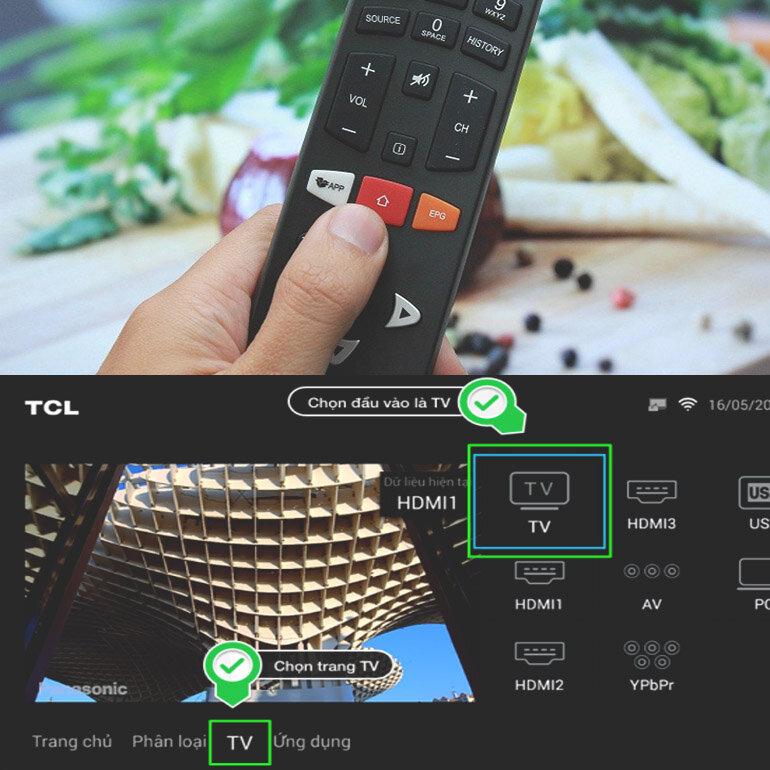 [Review] Cách dò kênh trên smart tivi TCL 2018 thông dụng nhất hiện nay
