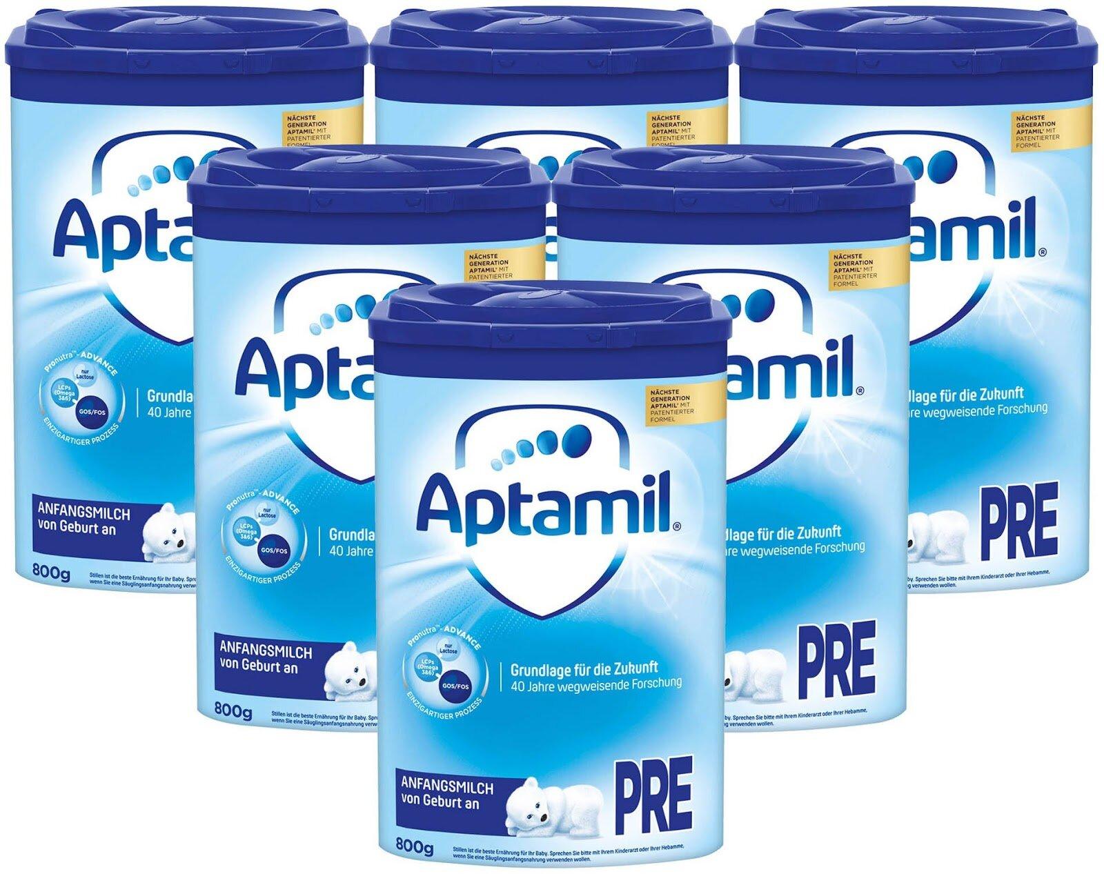 Sữa Aptamil Pre được sản xuất theo tiêu chuẩn của nước Đức