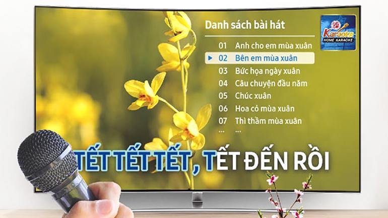 Hát karaoke online tại gia trên smart tivi tại sao không ?