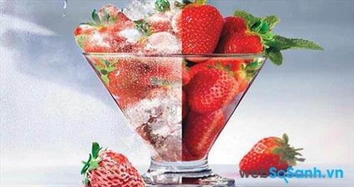 Công nghệ làm lạnh không đóng tuyết giúp thực phẩm được bảo quản tốt hơn