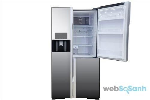 Tủ lạnh Hitachi side by side R-M700GPGV2X 584 lít