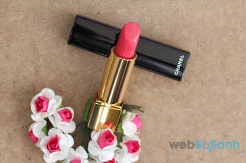 Son Chanel Rouge Allure với tông hồng cực ngọt ngào và thiết kế cực sang chảnh