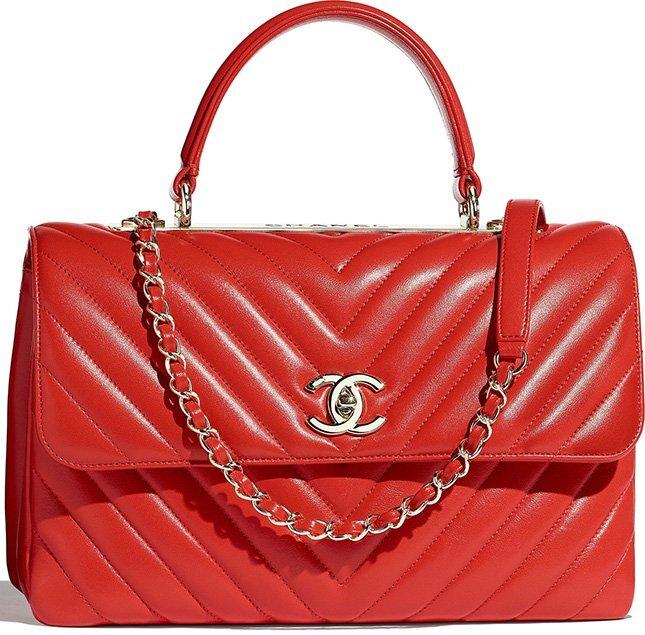 Chanel Chevron Trendy CC Bag