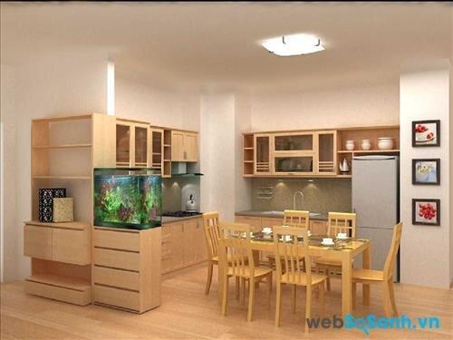 Cần xác định diện tích phòng bếp trước khi mua máy (nguồn: internet)