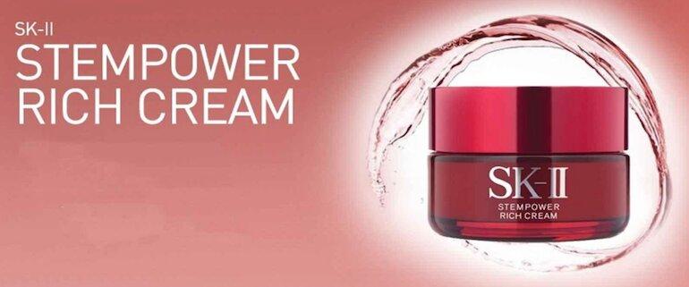 Kem dưỡng bảo vệ da, giúp da khỏe mạnh, săn chắc SK-II Stempower Rich Cream