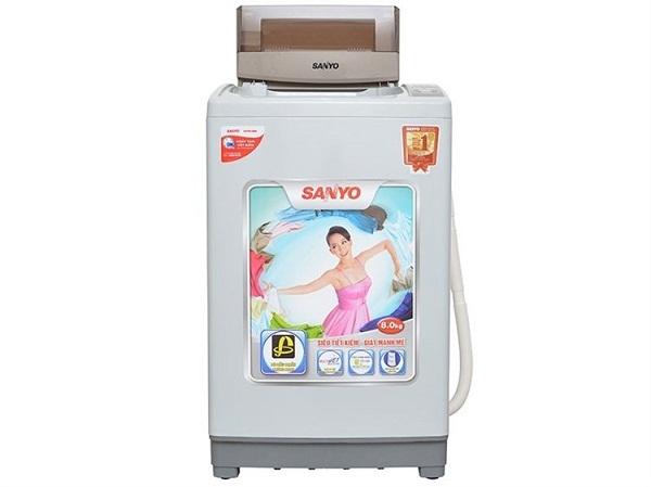 máy giặt 8kg lồng đứng sanyo 5 triệu đồng