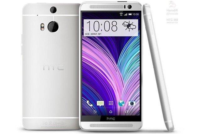 HTC One 2 lộ ảnh thực tế với viền màn hình siêu mỏng