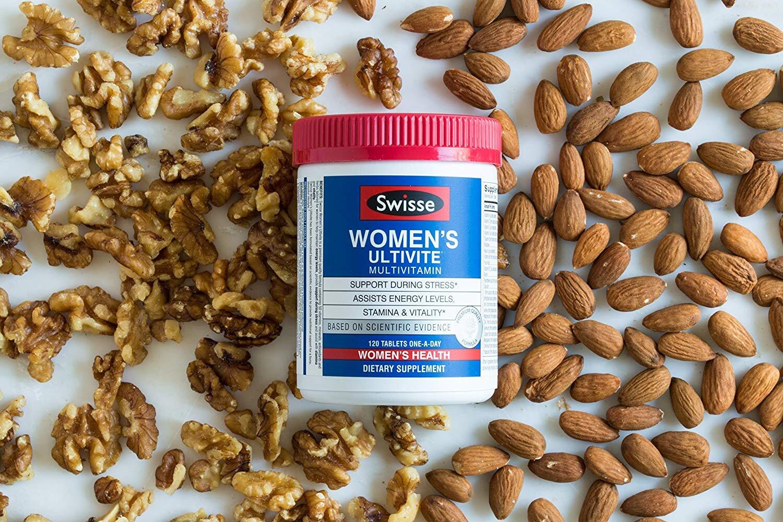 Thực phẩm chức năng Swisse women's ultivite multivitamin cung cấp dưỡng chất cho phụ nữ