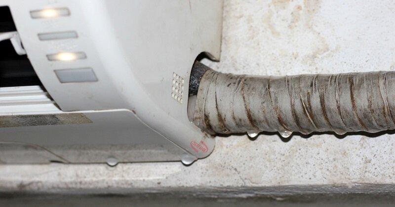 Máy lạnh bị rò rỉ nước trong quá trình sử dụng