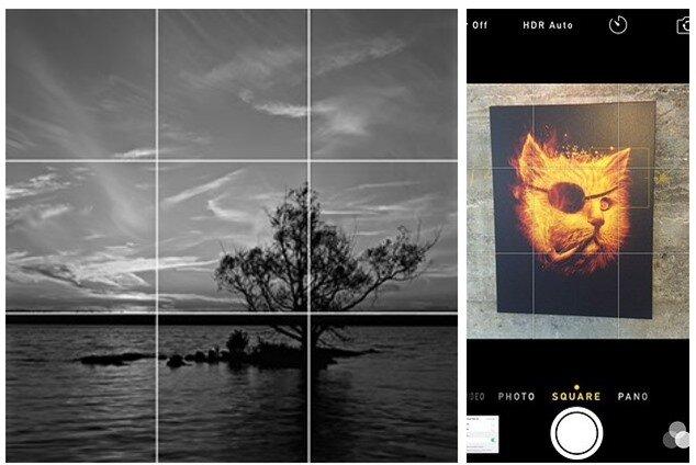 Nếu bạn chưa có nhiều kiến thức về nhiếp ảnh, bạn có thể bật chế độ lưới trên camera và áp dụng định luật 1/3 nổi tiếng.