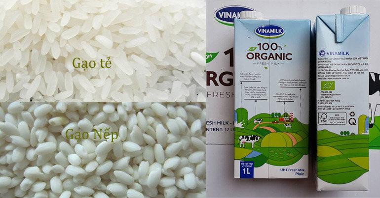 Nguyên liệu chính để làm sữa gạo Hàn Quốc