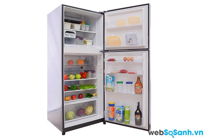 Tủ lạnh Hitachi R-VG400PGV3