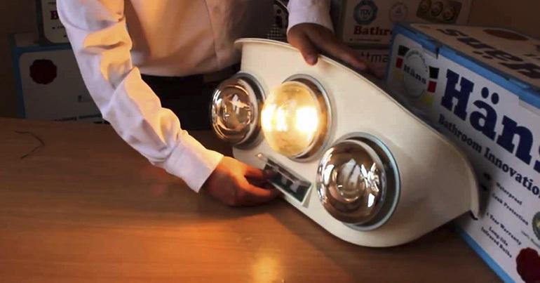 [Tư vấn] Chọn mua 3 loại đèn sưởi nhà tắm có chất lượng tốt, giá cả phải chăng