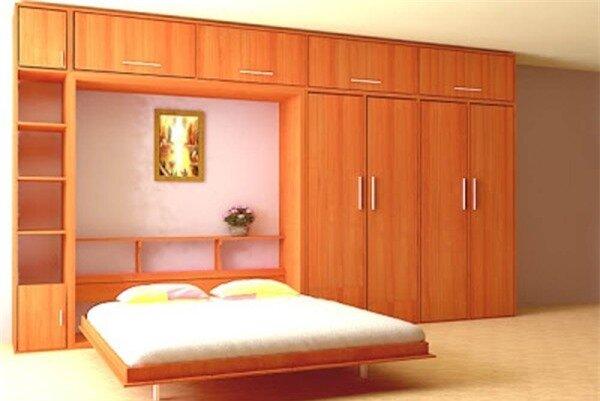 Tư vấn bố trí nội thất cho căn phòng 7,8m² có cả giường và bếp 5