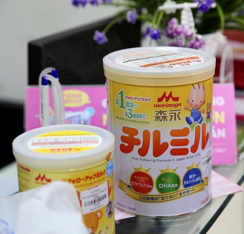 Sữa Morinaga là loại sữa mát nhất hiện nay trên thị trường