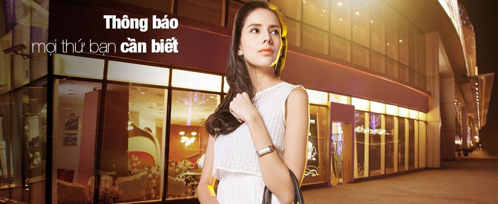 Xiaomi Mi Band - Món phụ kiện yêu thích của các bạn nữ