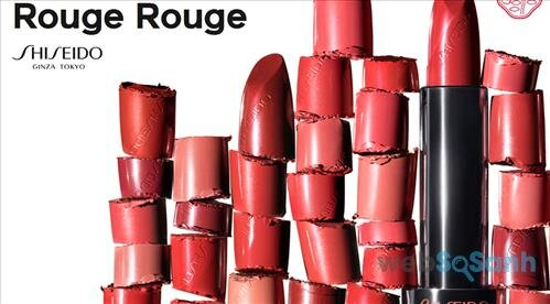 Shiseido Rouge Rouge có 16 màu và điều đặc biệt là toàn các sắc thái đỏ