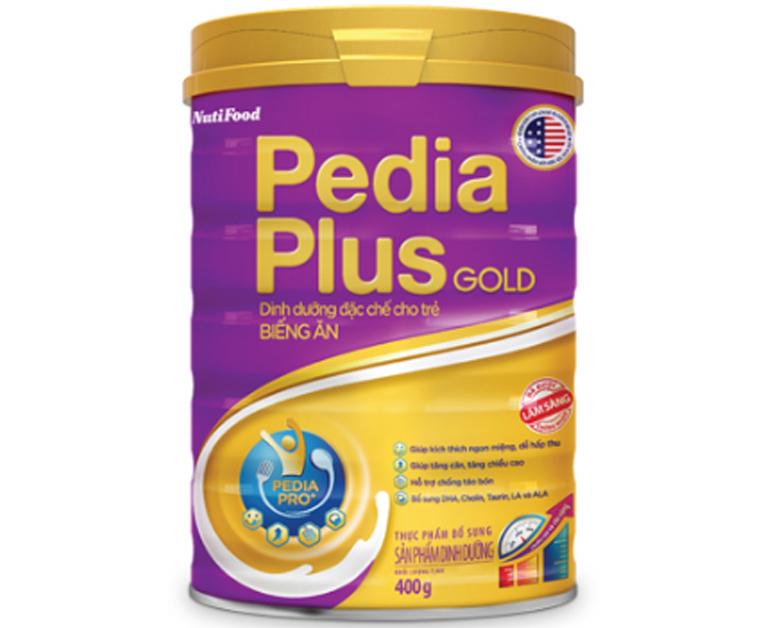 Sữa bột Pedia Plus của Nutifood