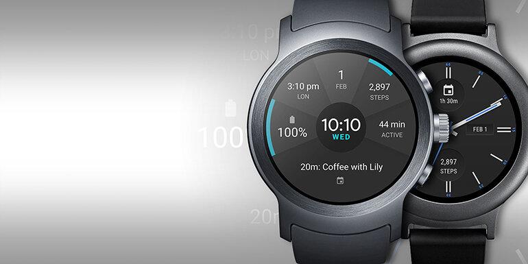 Đồng hồ thông minh LG Watch Sport cho dân văn phòng