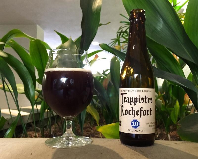 Bia Trappistes 10 của Rochefort.