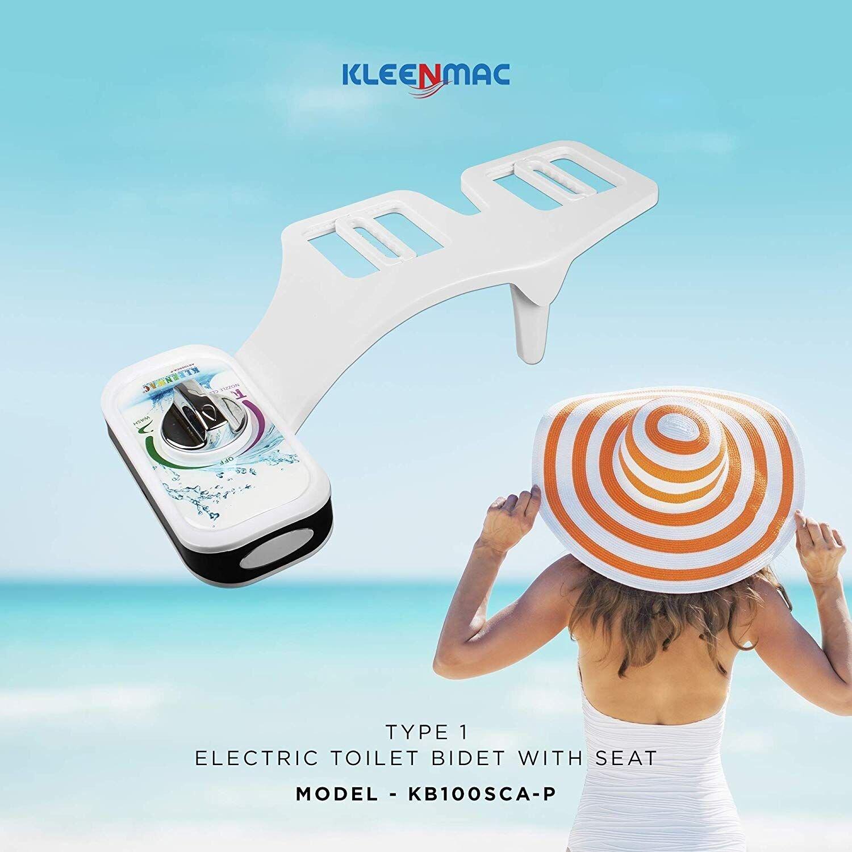 Vòi xịt vệ sinh thông minh Kleenmac có thiết kế sang trọng, dễ chùi rửa