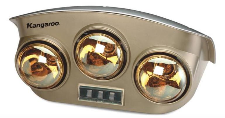 Lưu ý đến khung giờ sử dụng đèn sưởi Kangaroo 3 bóng