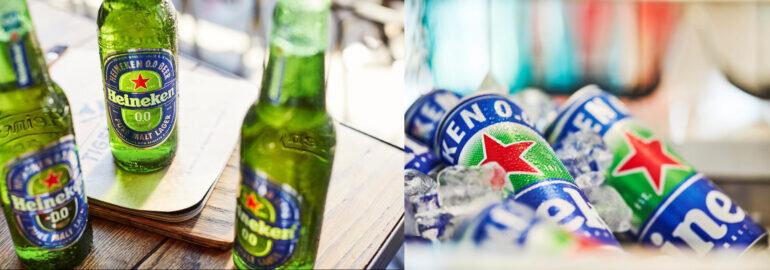Bia Heineken không cồn có mấy loại?