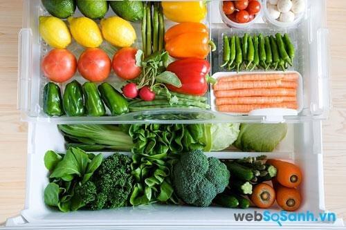 Cơ chế làm lạnh kép giúp bảo quản thực phẩm tươi ngon lâu hơn (nguồn: internet)