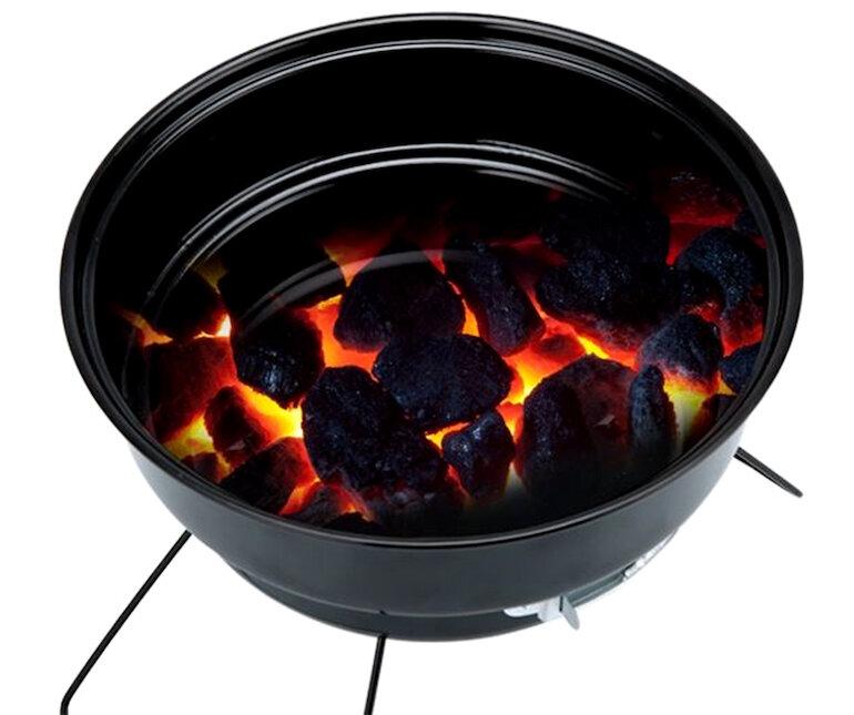 Bếp nướng than hoa inox tròn cao cấp BNT-01