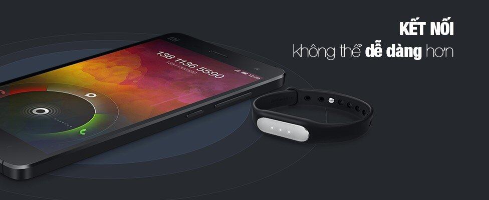 Kết nối qua Bluetooth dễ dàng