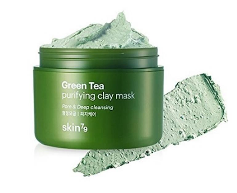 Mặt nạ đất sét trà xanh Skin79 Green Tea Purifying Clay Mask