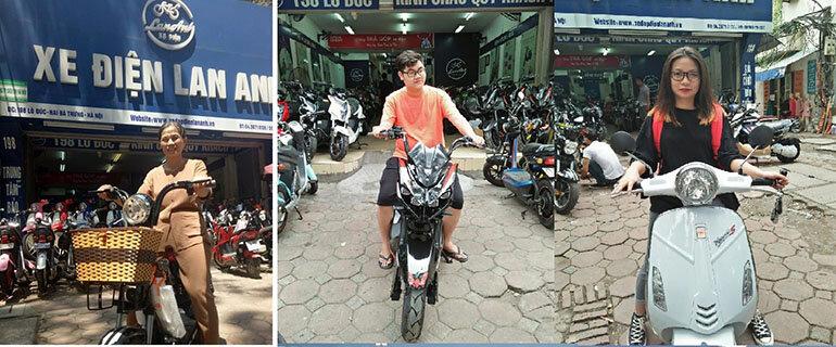 Lan Anh là đại lý xe máy điện tại Hà Nội được người tiêu dùng tin tưởng (Nguồn: xedienlananh.vn)