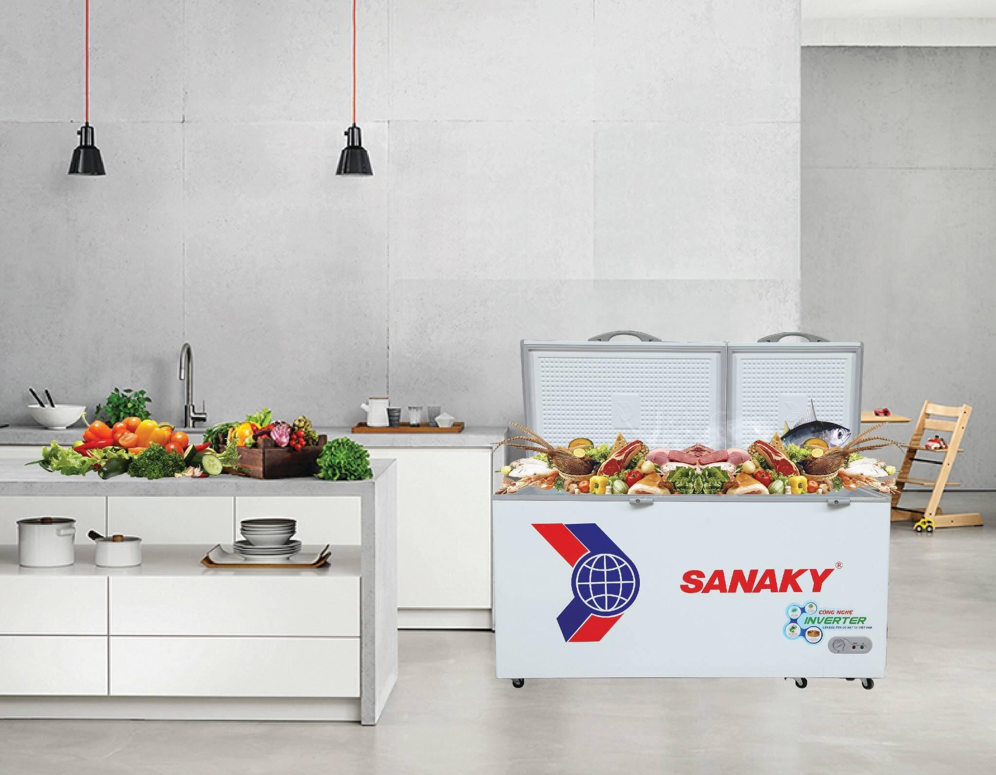 Tủ mát Sanaky là thương hiệu tủ được ưa chuộng hiện nay