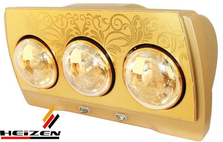 Đèn sưởi Heizen 3 bóng HE-3B (Gold)