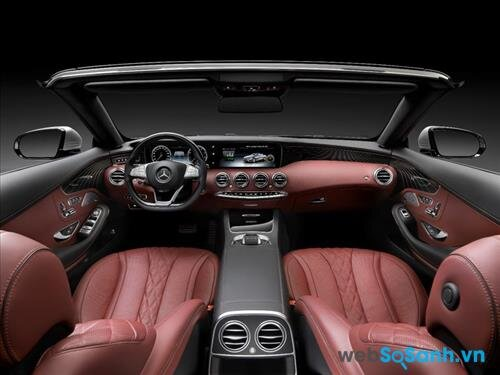 Nội thất xa xỉ của Mercedes S-Clas Cariolet