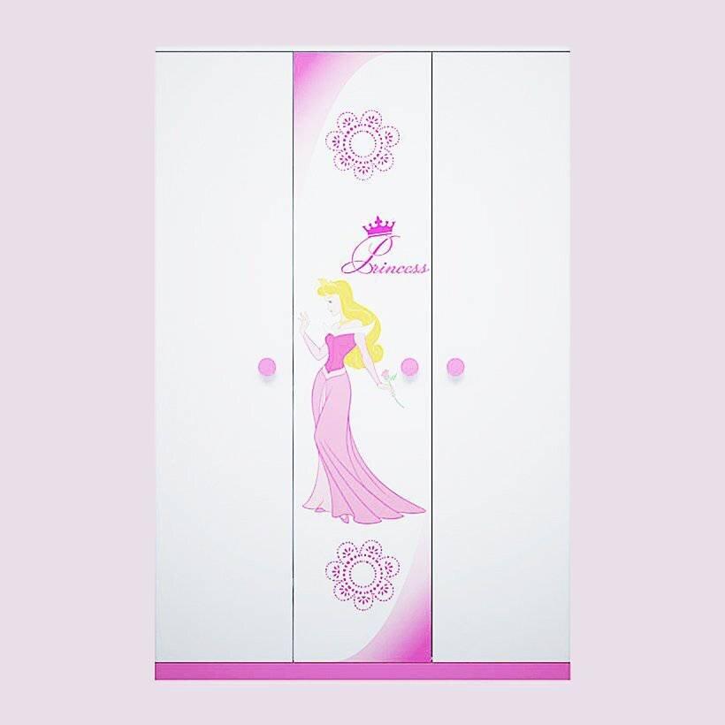 Tủ quần áo trẻ em hình công chúa Fhome