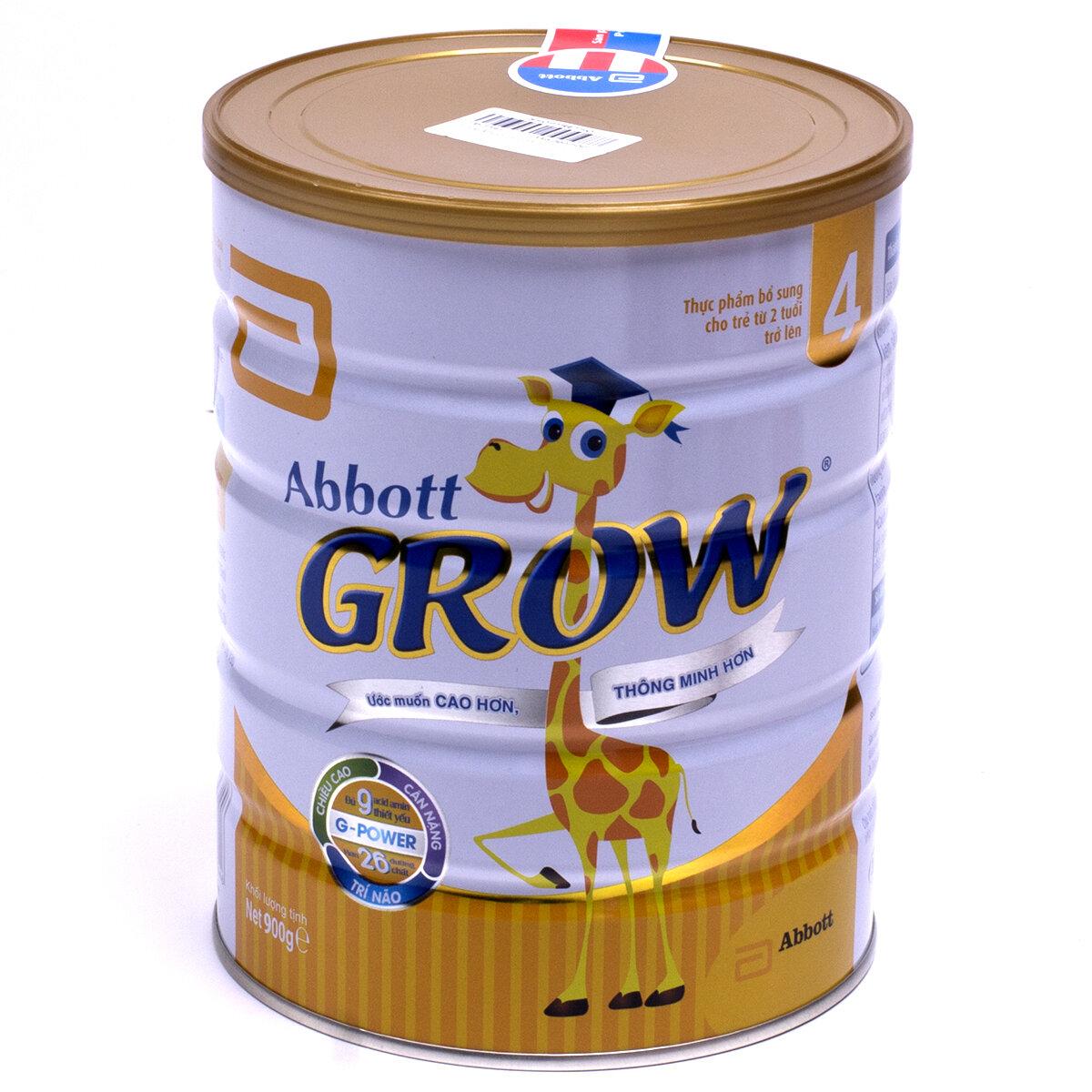 Sữa bột Abbott Grow 4 được nhiều trẻ em yêu thích hiện nay với hương vani thơm dịu