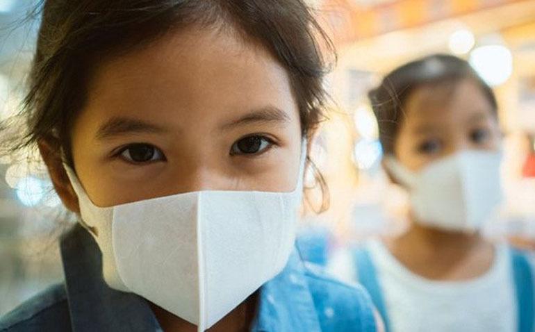 khẩu trang chống virus corona cho bé